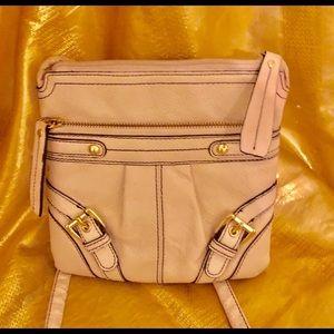 Etienne Aigner leather crossbody mini bag